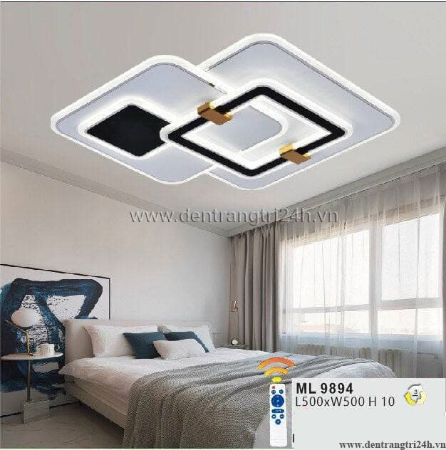 Đèn áp trần LED WQ5 ML 9894 L500xW500xH10