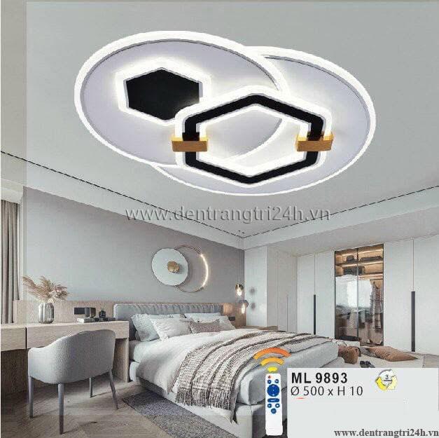 Đèn áp trần LED WQ5 ML 9893 Ø500xH10