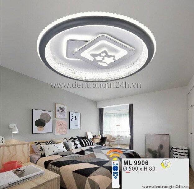 Đèn áp trần LED WQ5 ML 9906 Ø500xH80