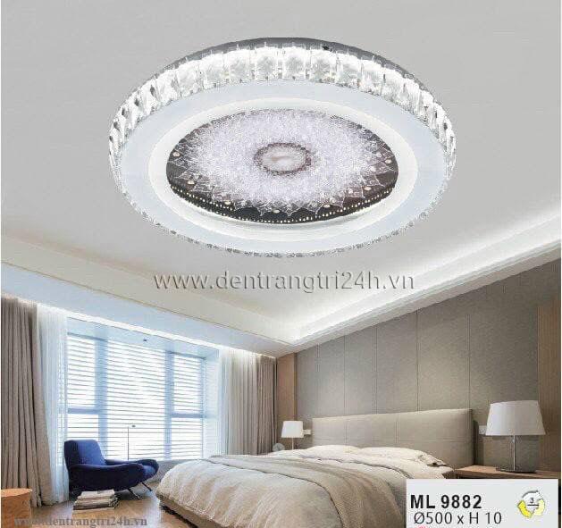 Đèn áp trần LED WQ5 ML 9882 Ø500xH10