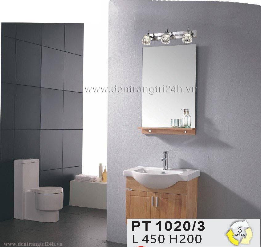 Đèn Soi Gương WQ5 PT 1020/3 L450xH200