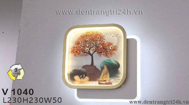 Đèn Tường Trang Trí WQ5 V 1040 L230xH230xW50