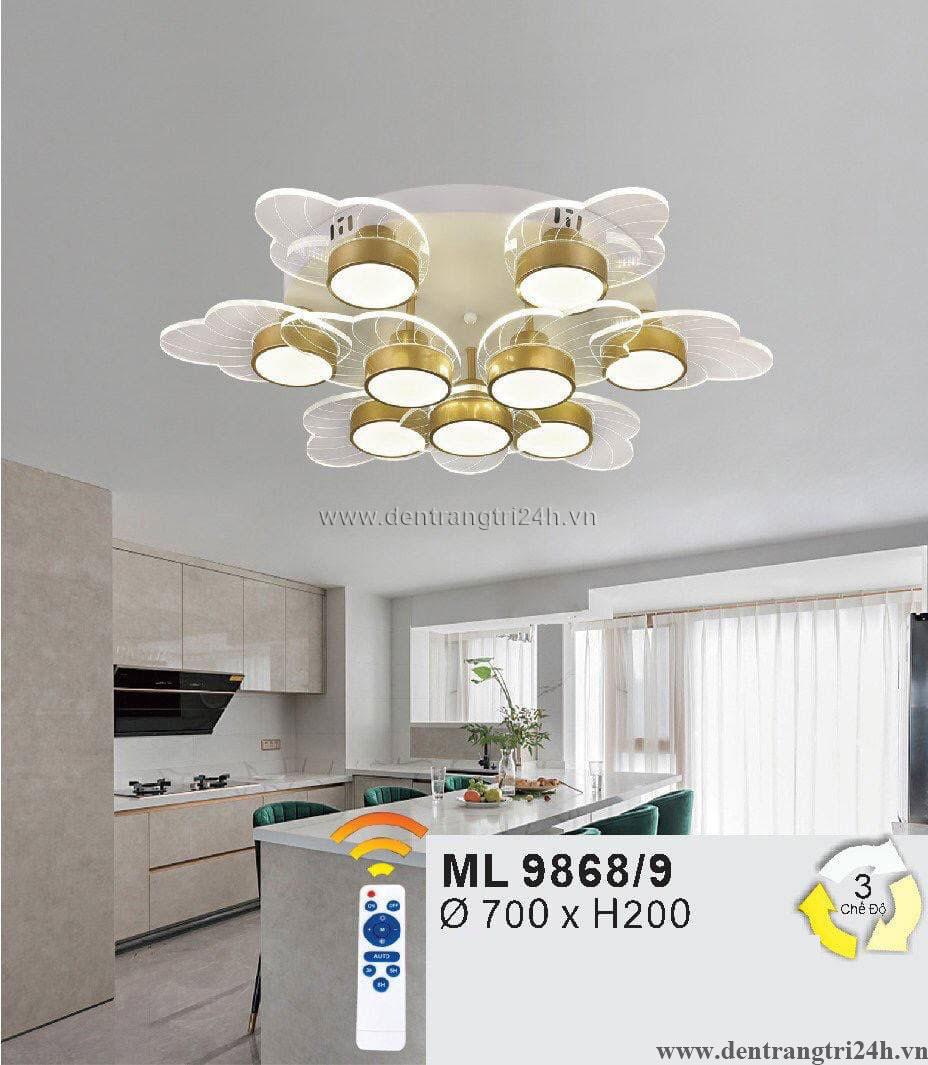 Đèn áp trần LED WQ5 ML 9868/9 Ø700xH200