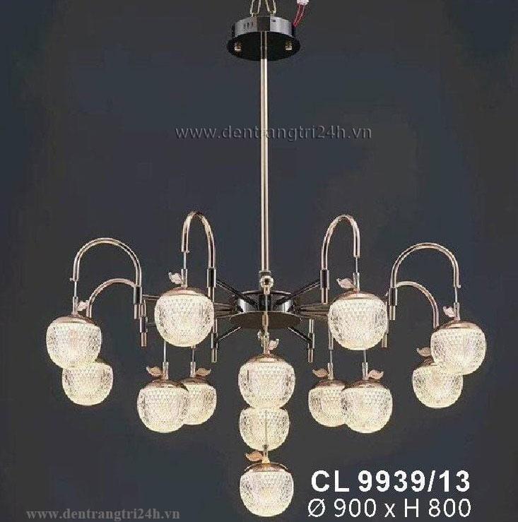 Đèn Chùm Nghệ Thuật WQ5 CL 9939/13 Ø900xH800